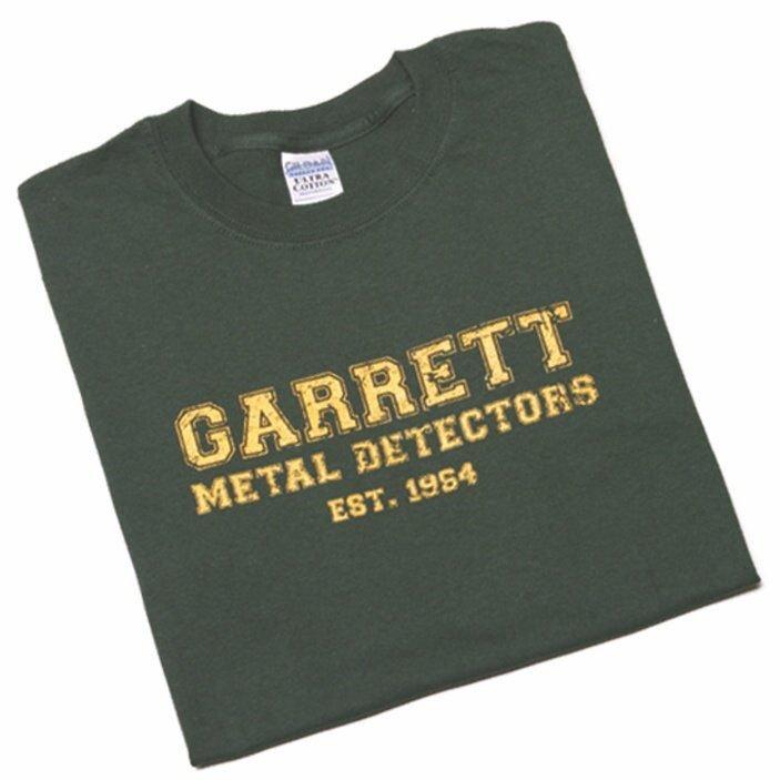 """Garrett Metal Detectors """"Est. 1964"""" T-shirt- L"""