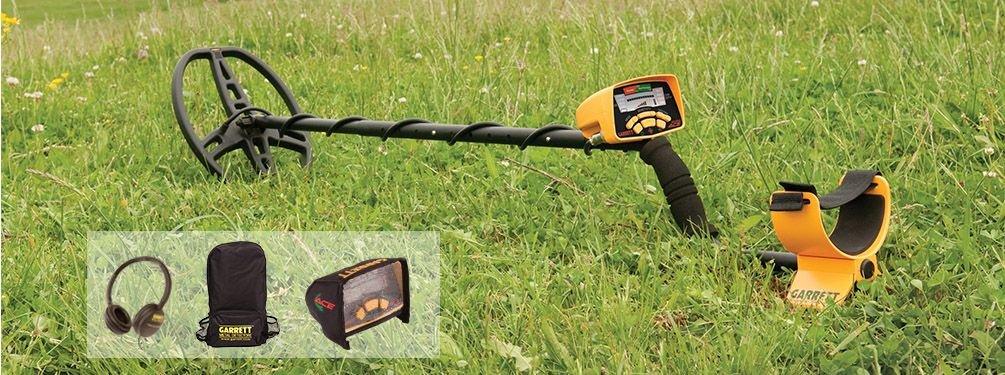 """Detektor kovů Garrett EuroACE s cívkou 22 x 28 cm (8.5"""" x 11"""")"""