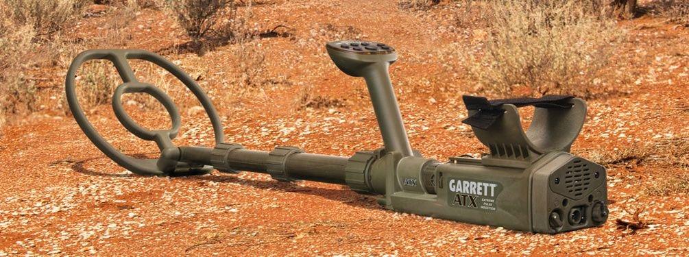"Detektor kovů Garrett ATX s cívkou 10x12"" DD."