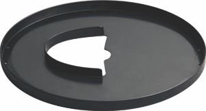 "Kryt na cívku ACE original GARRETT 6.5x9"" Elliptical black"