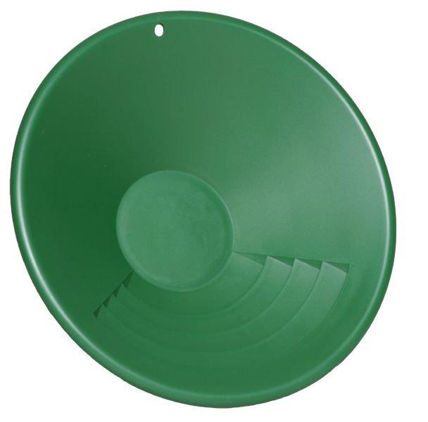 """Zelená plastová rýžovací pánev Garrett 10"""""""