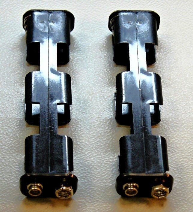 Zásobníky baterií černé / GTAx, GTP, GTI, AT, ATX