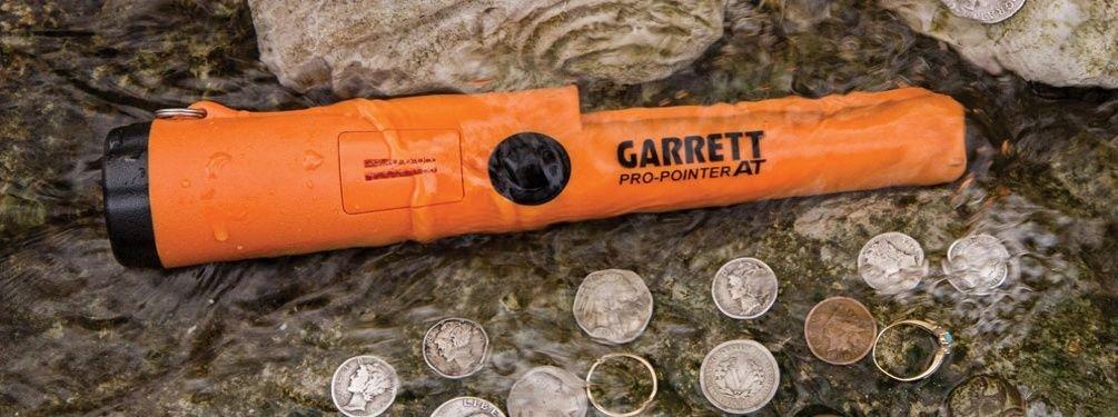 Detektor kovů Garrett PRO-POINTER AT - dohledávací vodotěsný detektor