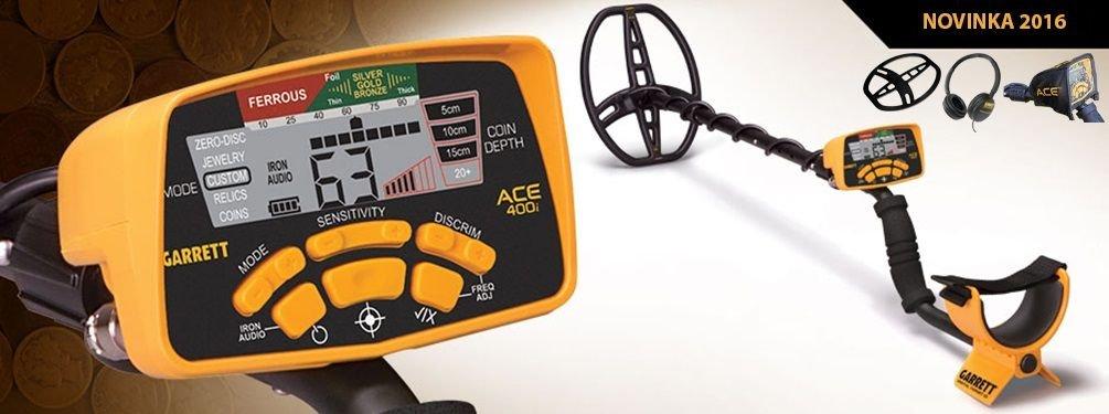 Detektor kovů Garrett ACE 400i