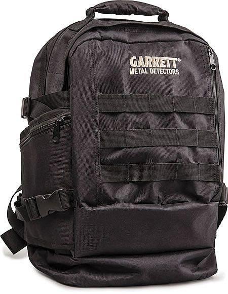 Prostorný batoh Garrett v černém provedení