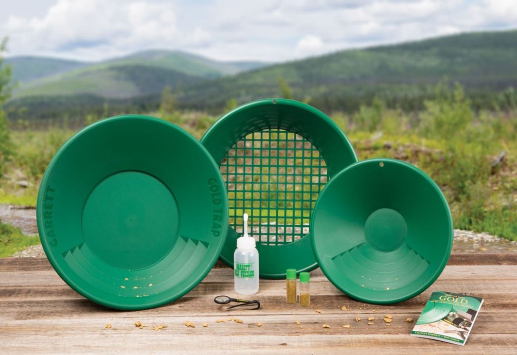 Sada zelených plastových rýžovacích pánví II