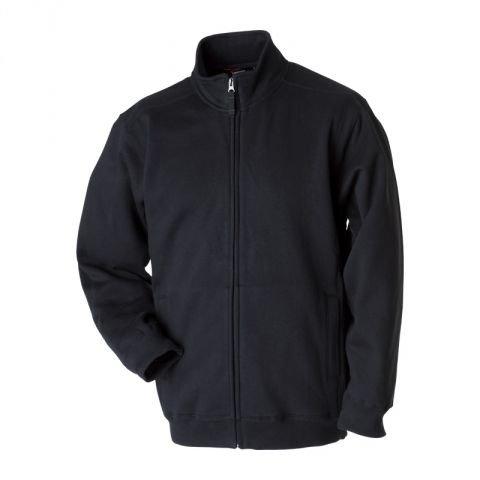 mikina pánská stojáček černá L, logo GARRETT
