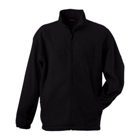 mikina pánská fleece. černá XL, bez loga