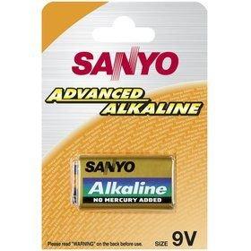 Baterie Sanyo 9V blistr Alkaline